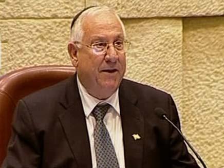 """יו""""ר הכנסת רובי ריבלין (צילום: חדשות 2)"""