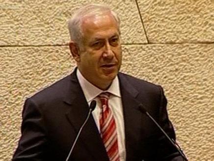 בנימין (ביבי) נתניהו בכנסת ישראל (חדשות 2) (צילום: חדשות 2)