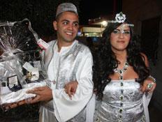 עינב בובליל ואלי בניסטי, חגיגת חינה (צילום: קובי בכר)