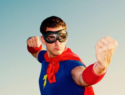 גיבור על (צילום: Andrew Rich, Istock)