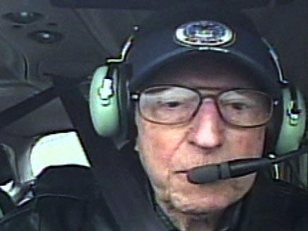 טייס בן 91 (צילום: חדשות 2)