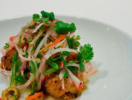 דג סינייה אפוי (צילום: איתי ספיבק)