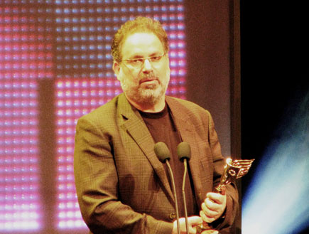 טקס פרסי התיאטרון 2009 - נתן דטנר (צילום: טל פרי)