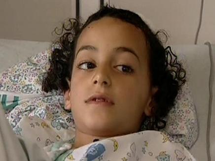 הילד הפצוע מהפיגוע בבת עין (צילום: חדשות 2)