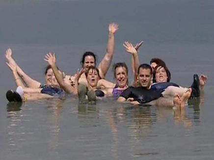 בין האתרים המומלצים: מצוקי ים המלח (צילום: חדשות 2)