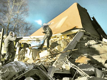 רעידת אדמה באיטליה, ארכיון (צילום: רויטרס)