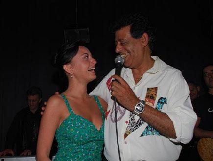 שימי תבורי ומאיה בוסקילה, האח הגדול VIP (צילום: אורן דהרי)