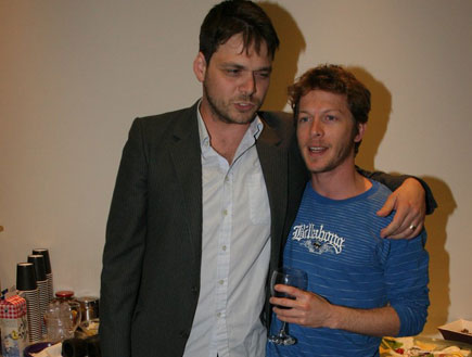 עפר שכטר ואוהד קנולר, אירוע עד החתונה (צילום: שוקה כהן)