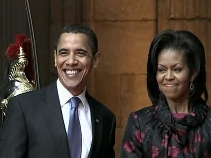 ביקור אובמה ומישל באירופה ובמזרח התיכון (צילום: חדשות 2)