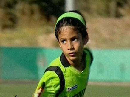 הכדורגלן הצעיר מאילת סהר (צילום: חדשות2)
