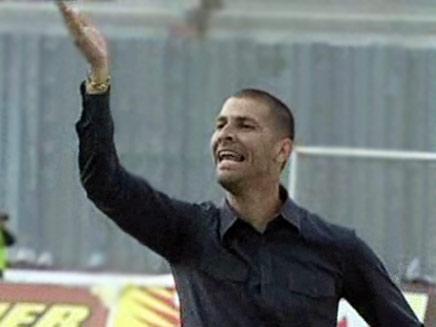 אבי נימני מאמן מכבי תל אביב בכדורגל (צילום: חדשות 2)