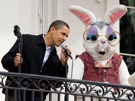 אובמה וחבר, ארכיון (צילום: רויטרס)