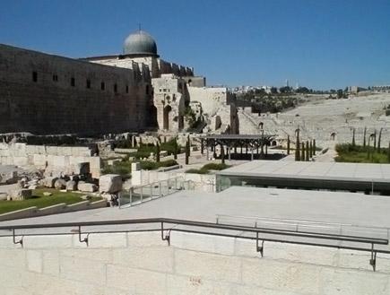טיול בירושלים: הגן הארכיאולוגי (צילום: איל שפירא)