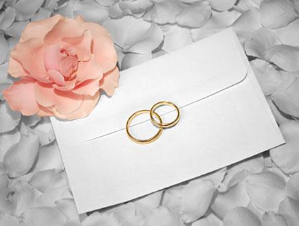 הזמנה לחתונה (צילום: istockphoto)