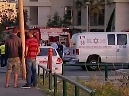 פיגוע פלילי ברמת אביב (צילום: חדשות 2)
