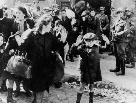 ילדים בשואה (צילום: Keystone, GettyImages IL)