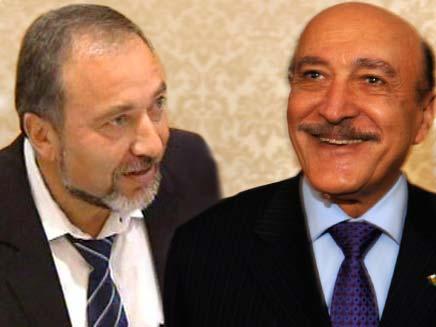עומר סולימן ואביגדור ליברמן (צילום: חדשות 2 ומשרד הביטחון)