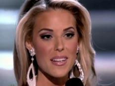 קרי פרג'ין, סגנית מיס אמריקה (צילום: חדשות 2)