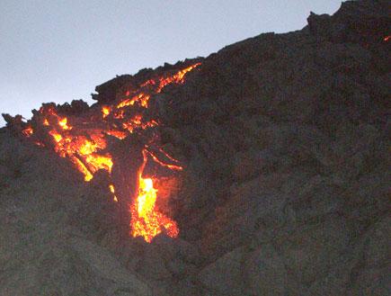 הר געש פקאיה1 (צילום: ניר חולי)