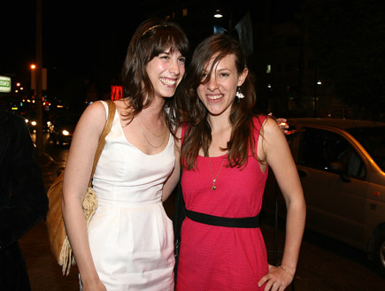 רומי אבולעפיה וגאיה טראוב, אירוע יס 2009 (צילום: שוקה כהן)