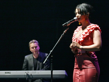 נינט טייב, אירוע יס 2009 (צילום: שוקה כהן)