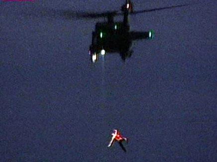 אסון החילוץ. צילום ארכיון (צילום: רז הלווינג, ערוץ 1)