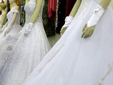 שמלות כלה - רויטרס (צילום: חדשות 2)