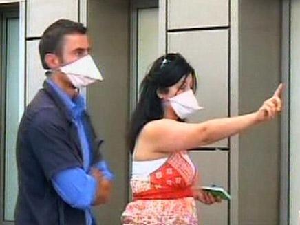 שפעת החזירים (חדשות 2) (צילום: חדשות 2)
