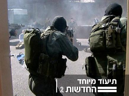 """משה נוסבאום מתלווה לימ""""ם (צילום: חדשות 2)"""