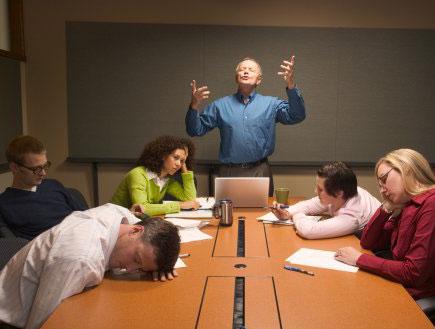 נרדמים בישיבה (צילום: Karen Moskowitz, GettyImages IL)
