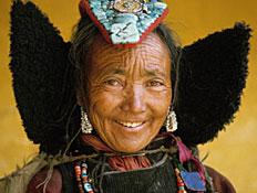 זקנה אינדיאנית (צילום: Sami Sarkis, GettyImages IL)