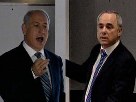 מתח בין שר האוצר לראש הממשלה? (צילום: חדשות 2)