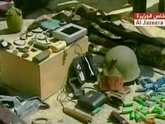 ציוד ששימש כביכול את רשת הריגול הישראלית בלבנון (צילום: חדשות 2)
