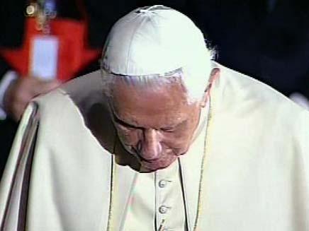 האפיפיור בנדיקטוס ה-16. ארכיון (צילום: חדשות 2)