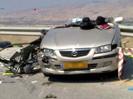 תאונת דרכים קטלנית. ארכיון (צילום: חדשות 2)