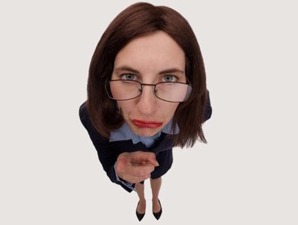 אישה עם משקפיים 2 (צילום: Sharon Dominick, Istock)