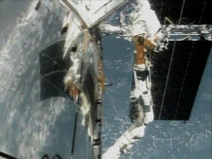 מעבורת החלל האבל (צילום: חדשות 2)