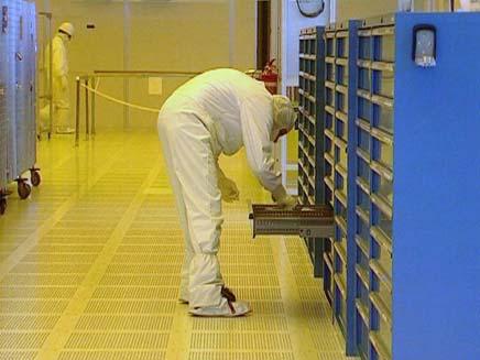 מפעל אינטל בקריית גת (צילום: חדשות2)