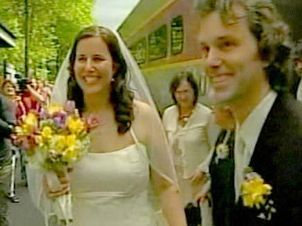 חתונה על רכבת (צילום: חדשות 2)