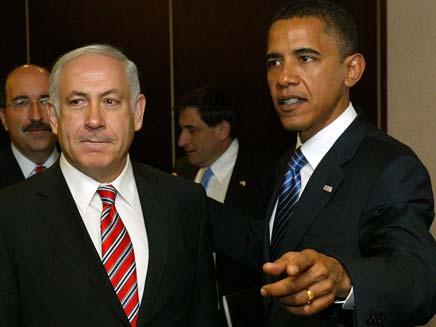 """אובמה ונתניהו: """"ישראל וארה""""ב קשורות בטבו (צילום: OLIVIER FITOUSSI, GettyImages IL)"""