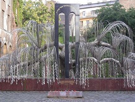 הערבה הבוכיה, בית הכנסת הגדול בבודפשט
