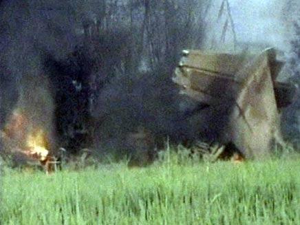 מטוס שהתרסק באינדונזיה (צילום: AP)
