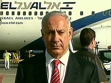 ראש הממשלה בנימין נתניהו בשדה התעופה (צילום: חדשות 2)