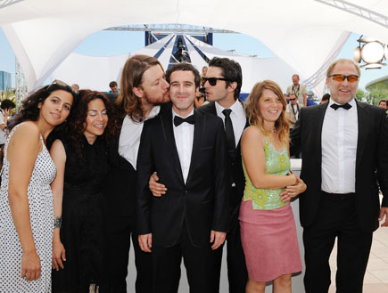 צוות הסרט עיניים פקוחות (צילום: Pascal Le Segretain, GettyImages IL)