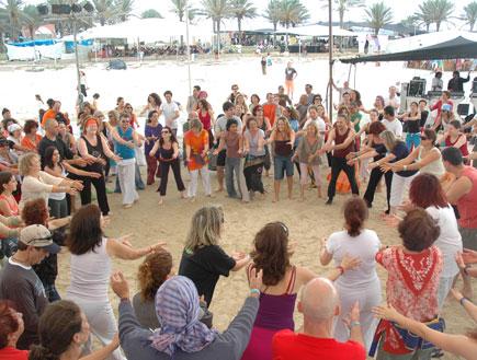 רוחניות בפסטיבל סגול (צילום: אסף קליגר)