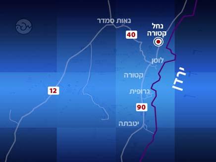 נחל קטורה בערבה (צילום: אתר מפה)
