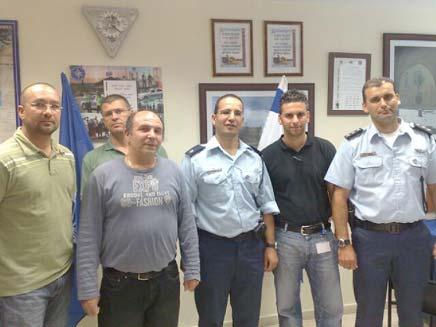 השוטרים שפיענחו את רצח מרדכי פלח (צילום: חדשות 2- גלעד שלמור)