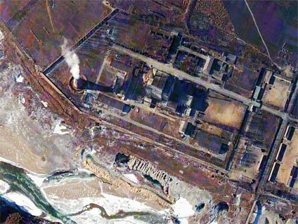 כור גרעיני בקוריאה הצפונית (צילום: רויטרס)