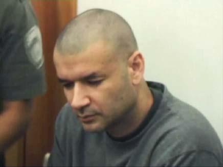 רוני רון החשוד ברצח הילדה רוז (צילום: חדשות 2)