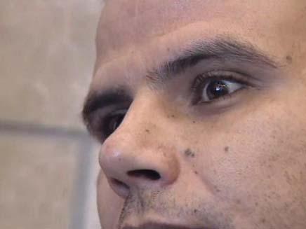 הרוצח הסדרתי יחיא פרחאן (צילום: חדשות 2)